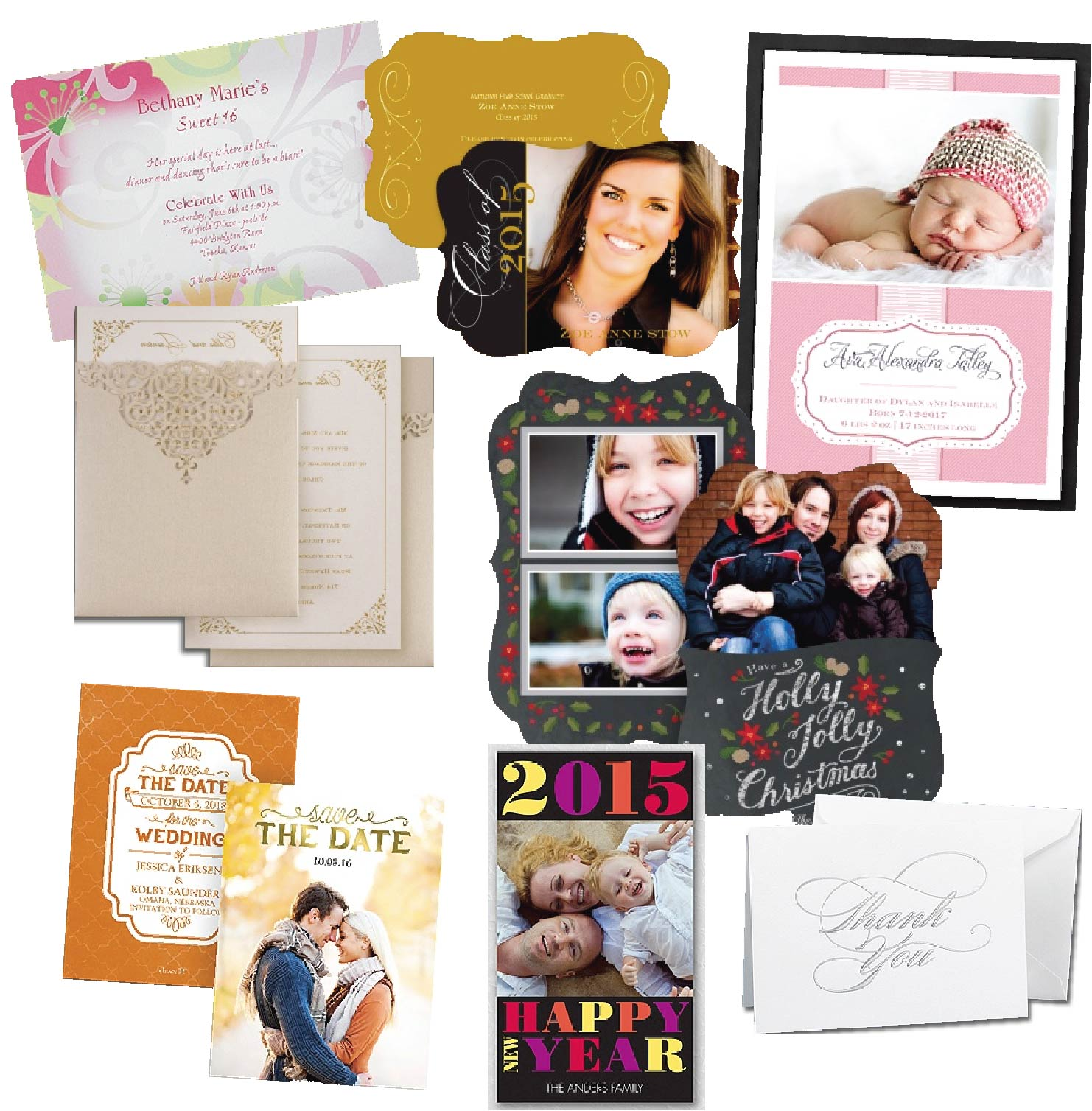 Greeting Cards & Invites