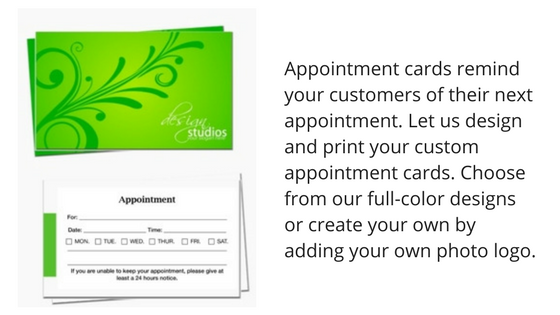 print appointment card northern ny 13617, canton , potsdam, ogdensburg
